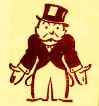 Monopoly man without money