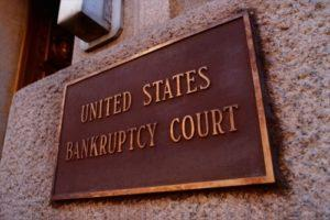 Sign for United States Bankruptcy Court