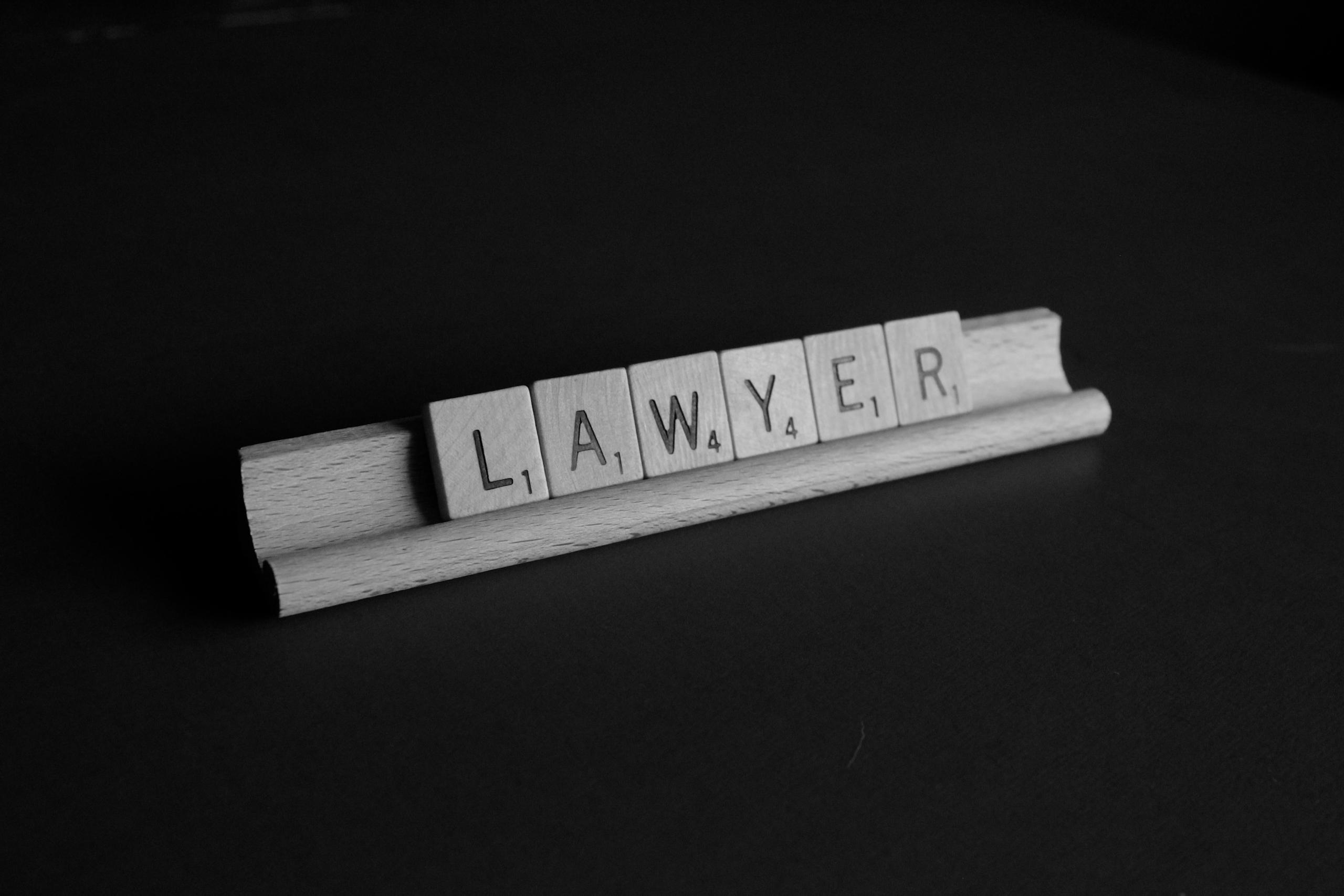 Word Lawyer on Scrabble Tray